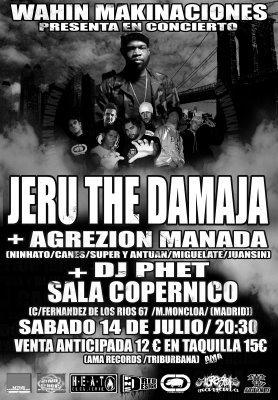 Jeru the Damaja Madrid
