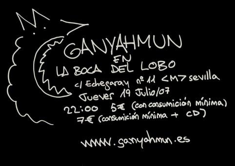 Ganyahmun en La boca del Lobo