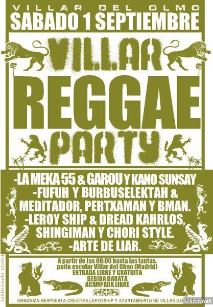 Villar Reggae Party