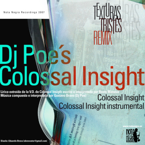Dj Poe - Colossal Insight (Texturas tristes remix)