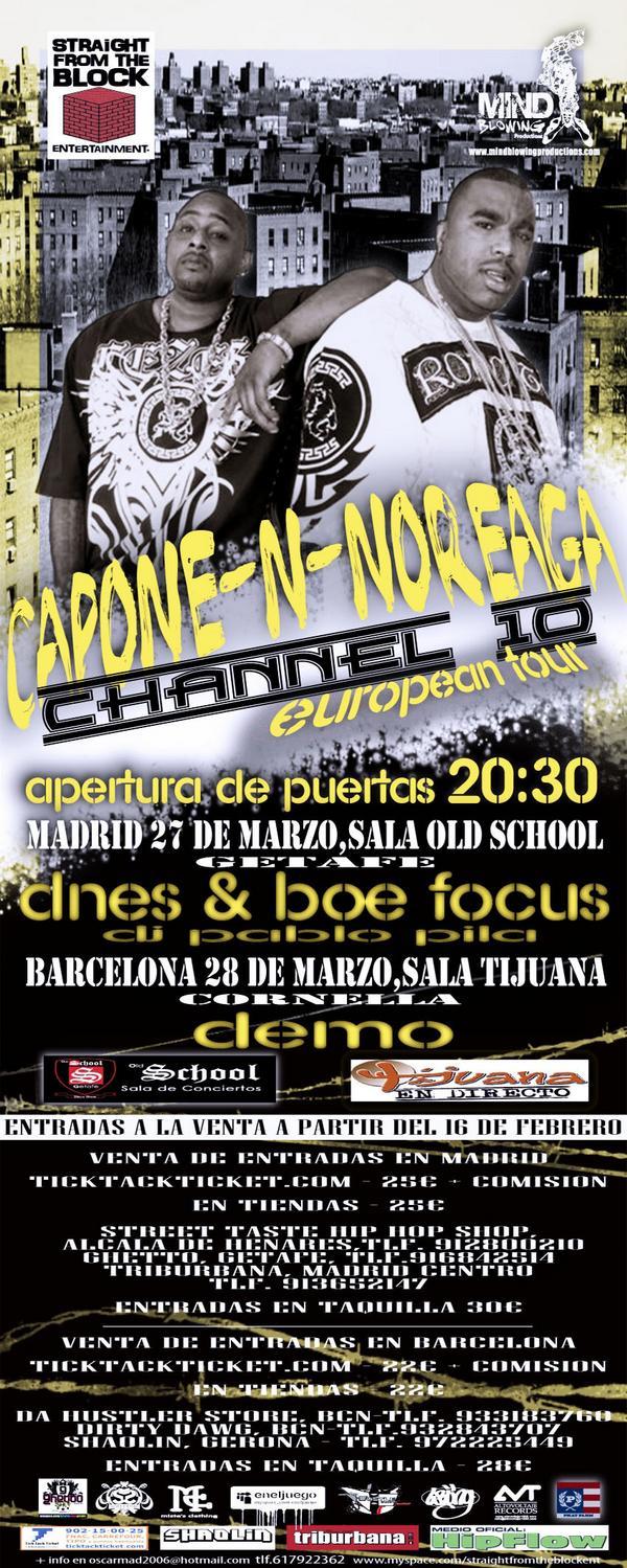 Capone-N-Noreaga en Madrid