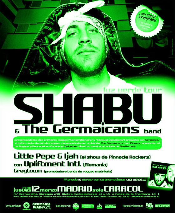 Shabu one shant - Luz verde tour