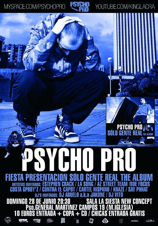 Fiesta presentacion Psycho pro