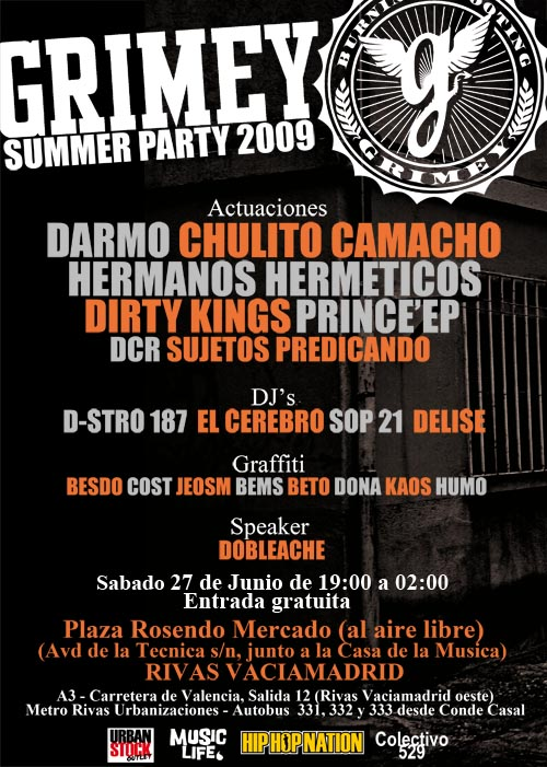 Grimey summer party 2009