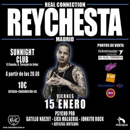 Reychesta en concierto en Torrejon