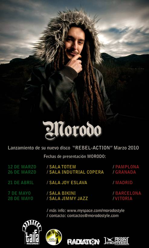 Modoro, presentacion Rebel-Action