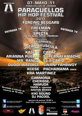 paracuellos hip hop festival